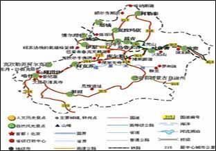 新疆旅游线路计划